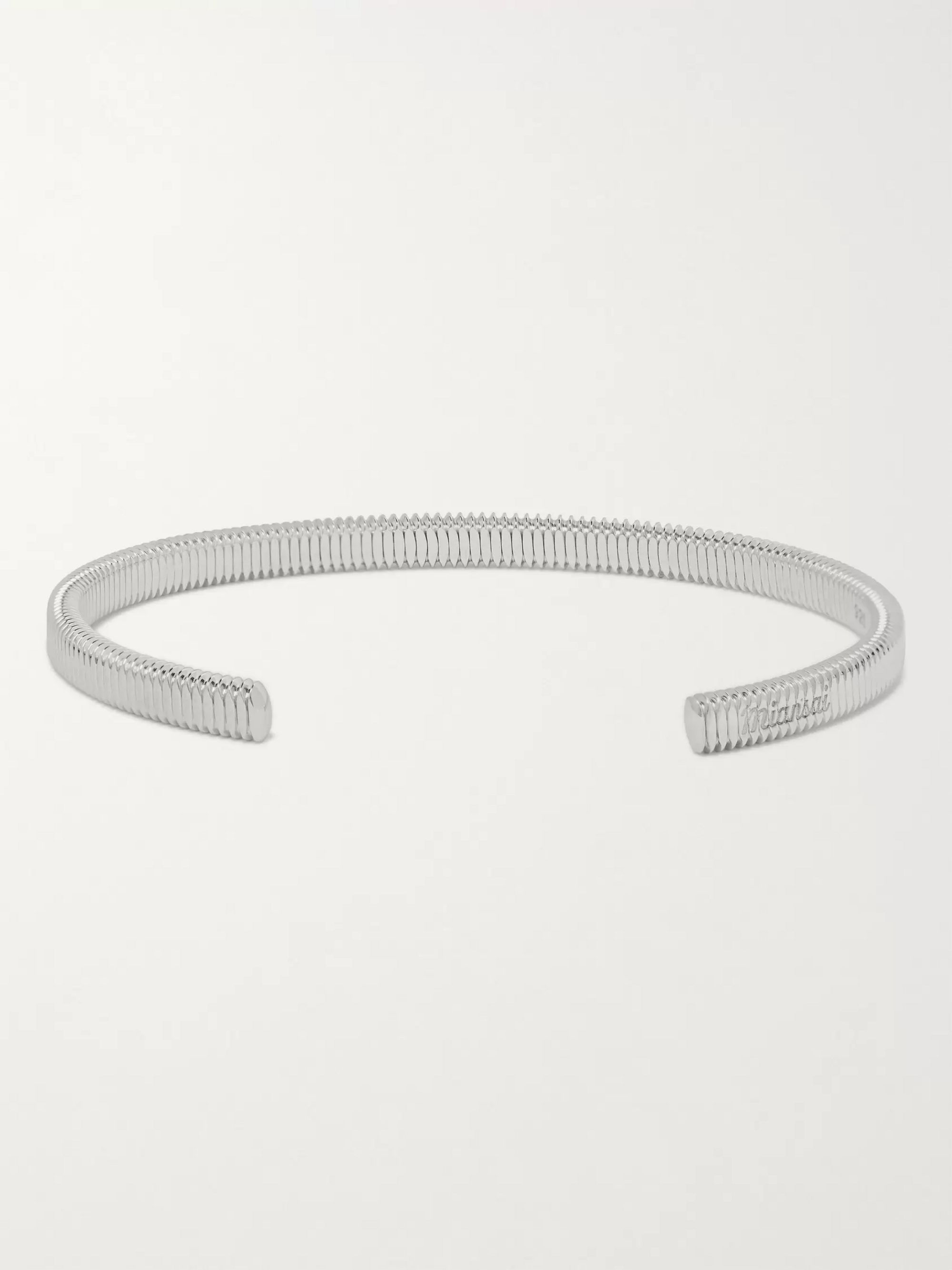 Miansai Thread Sterling Silver Cuff