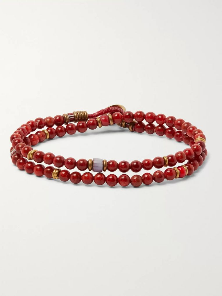 Mikia Beaded Wrap Bracelet
