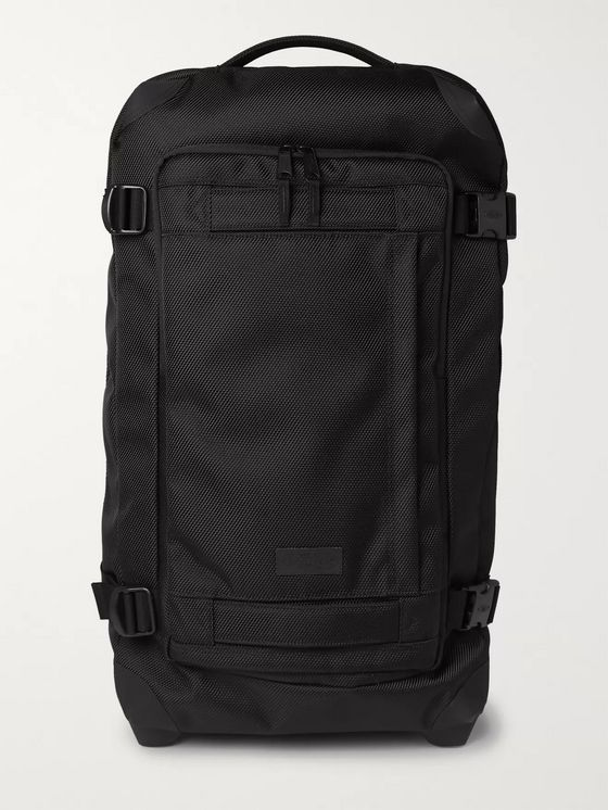 Eastpak Tranverz Medium 67cm Leather-Trimmed Canvas Suitcase