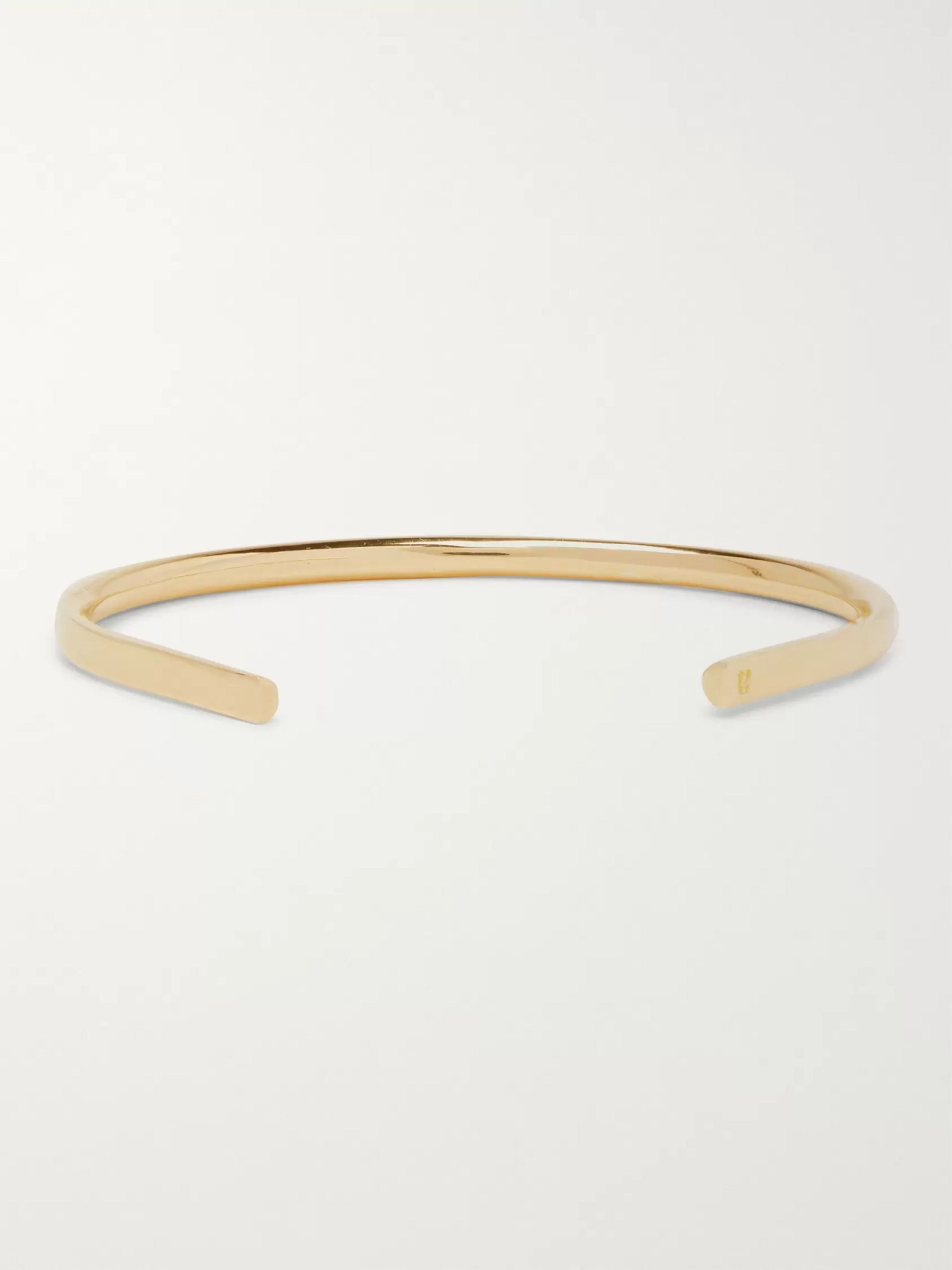 Alice Made This P4 Bancroft 18-Karat Gold Cuff