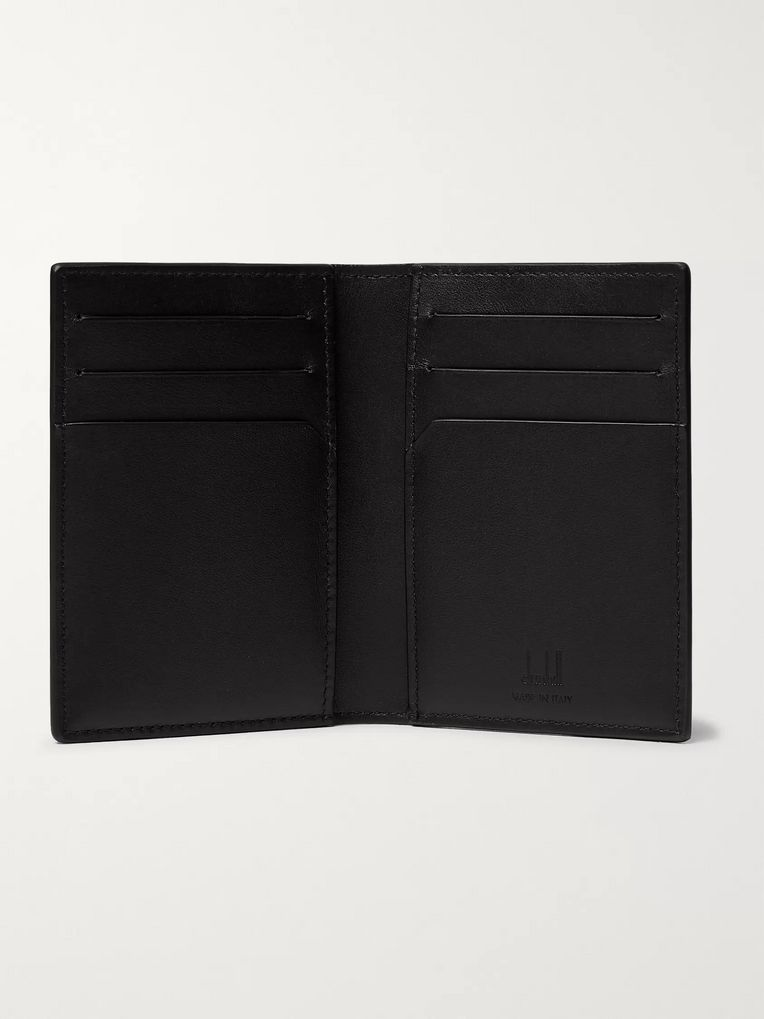 Dunhill Printed Coated-Canvas Bifold Cardholder
