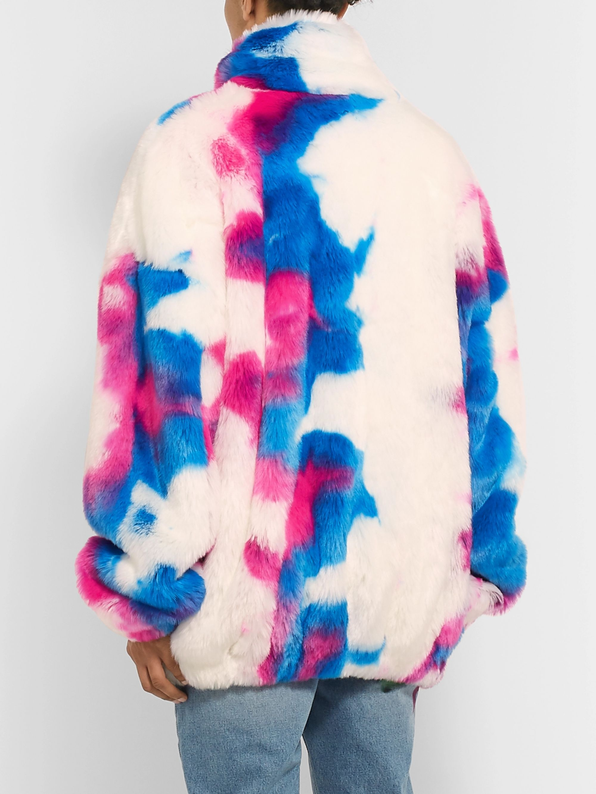 Off-White Oversized Faux Fur Jacket