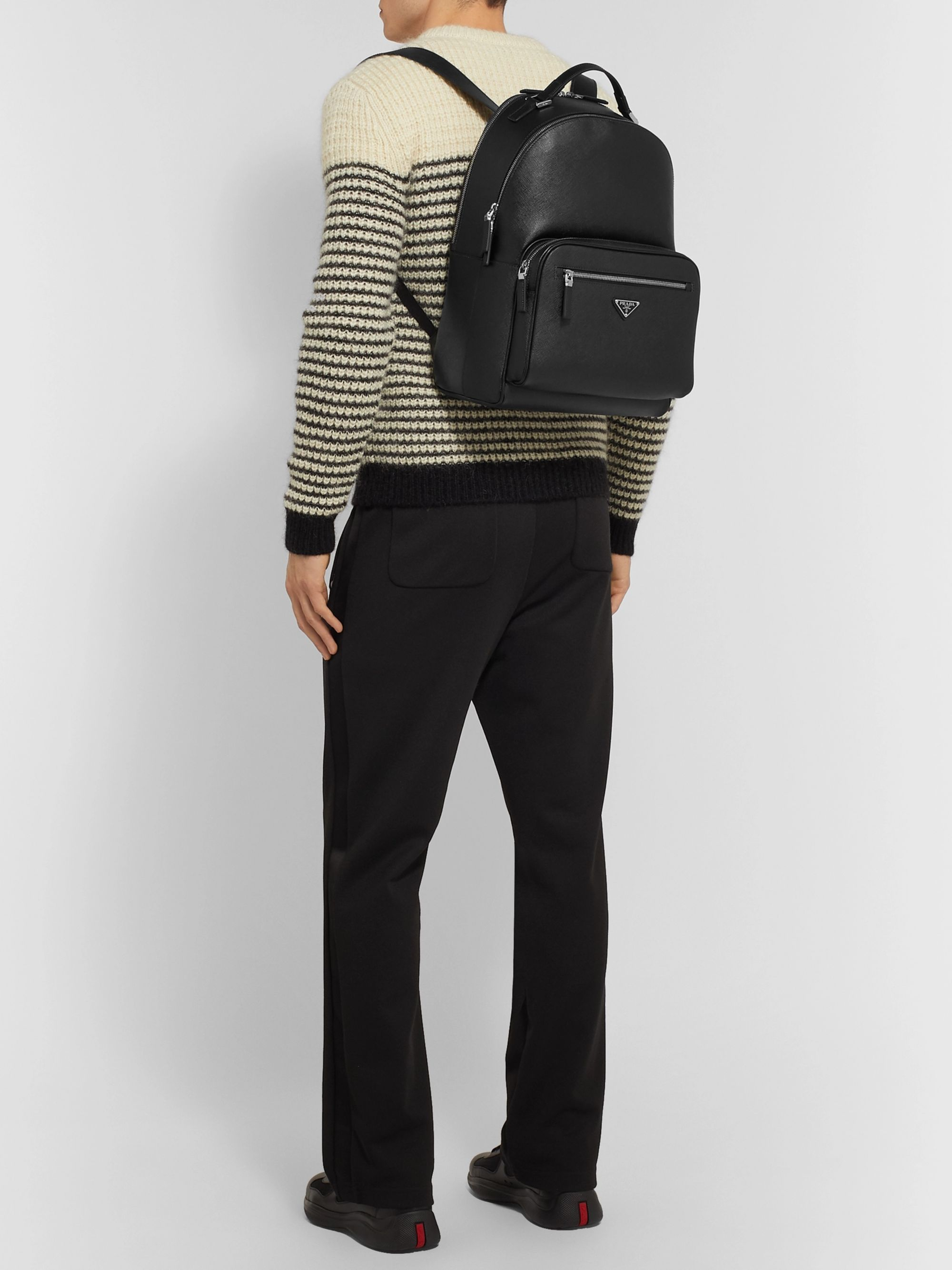 Prada Saffiano Leather Backpack