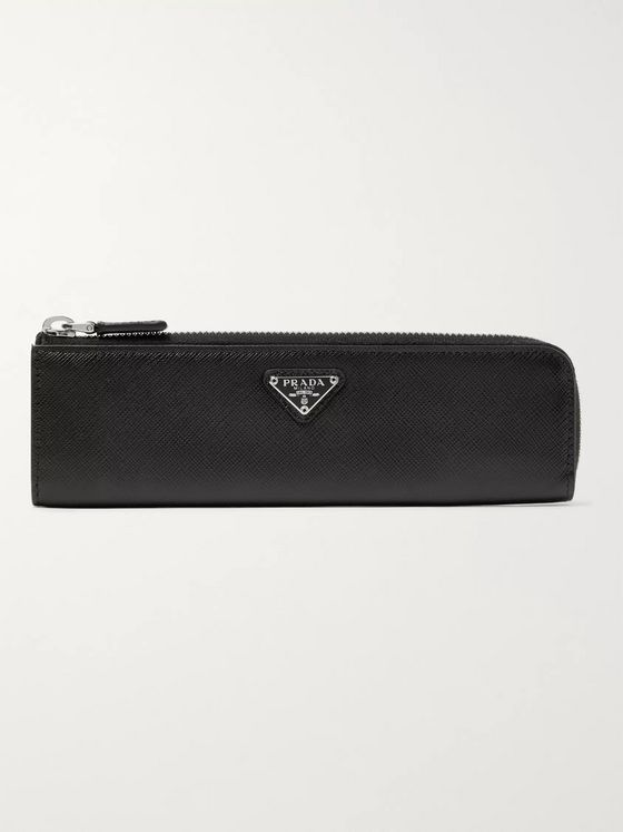 Prada Saffiano Leather Pencil Case