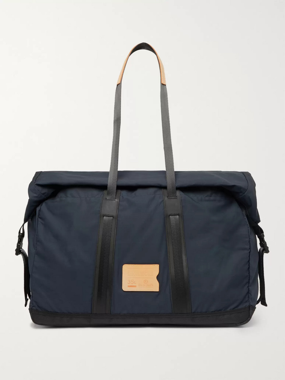 Bleu de Chauffe Baroud Leather-Trimmed Ripstop Holdall