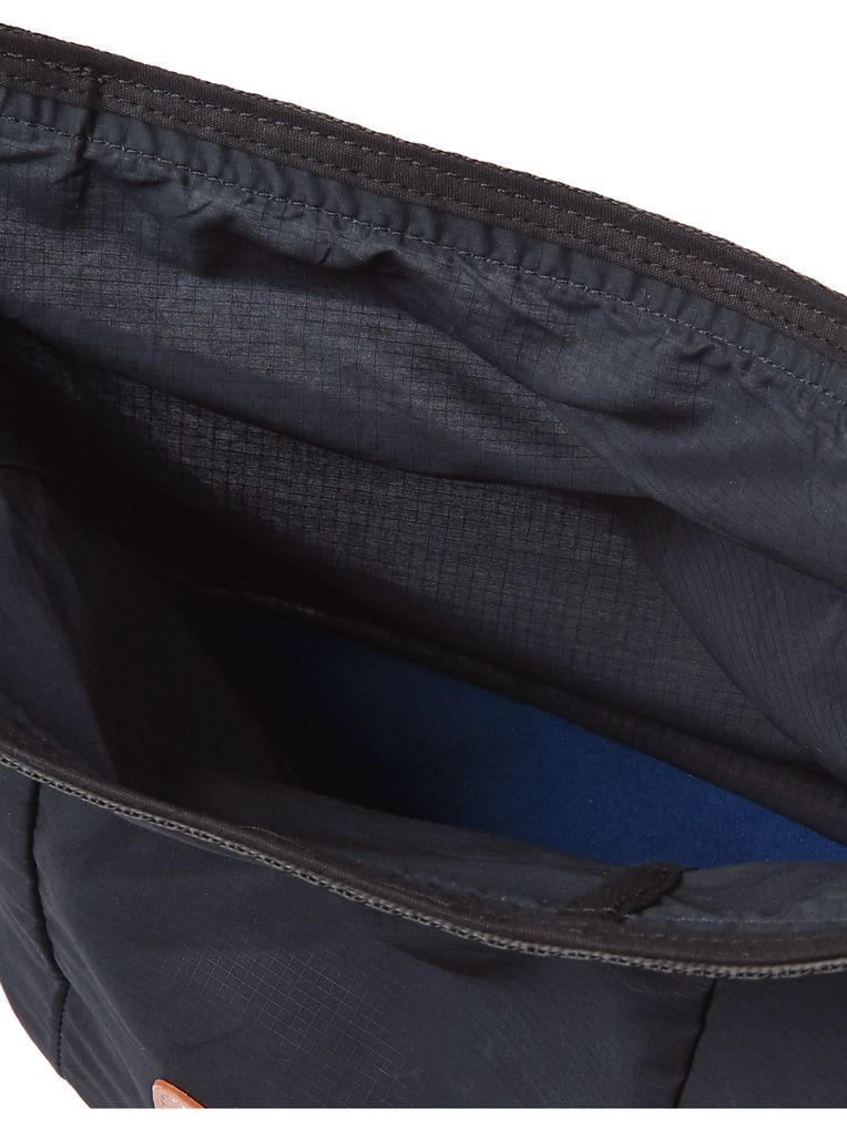 Bleu de Chauffe Bantou Leather-Trimmed Ripstop Wash Bag