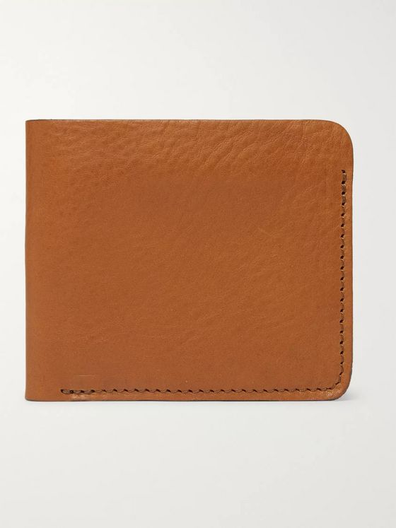 Bleu de Chauffe Peze Leather Billfold Wallet