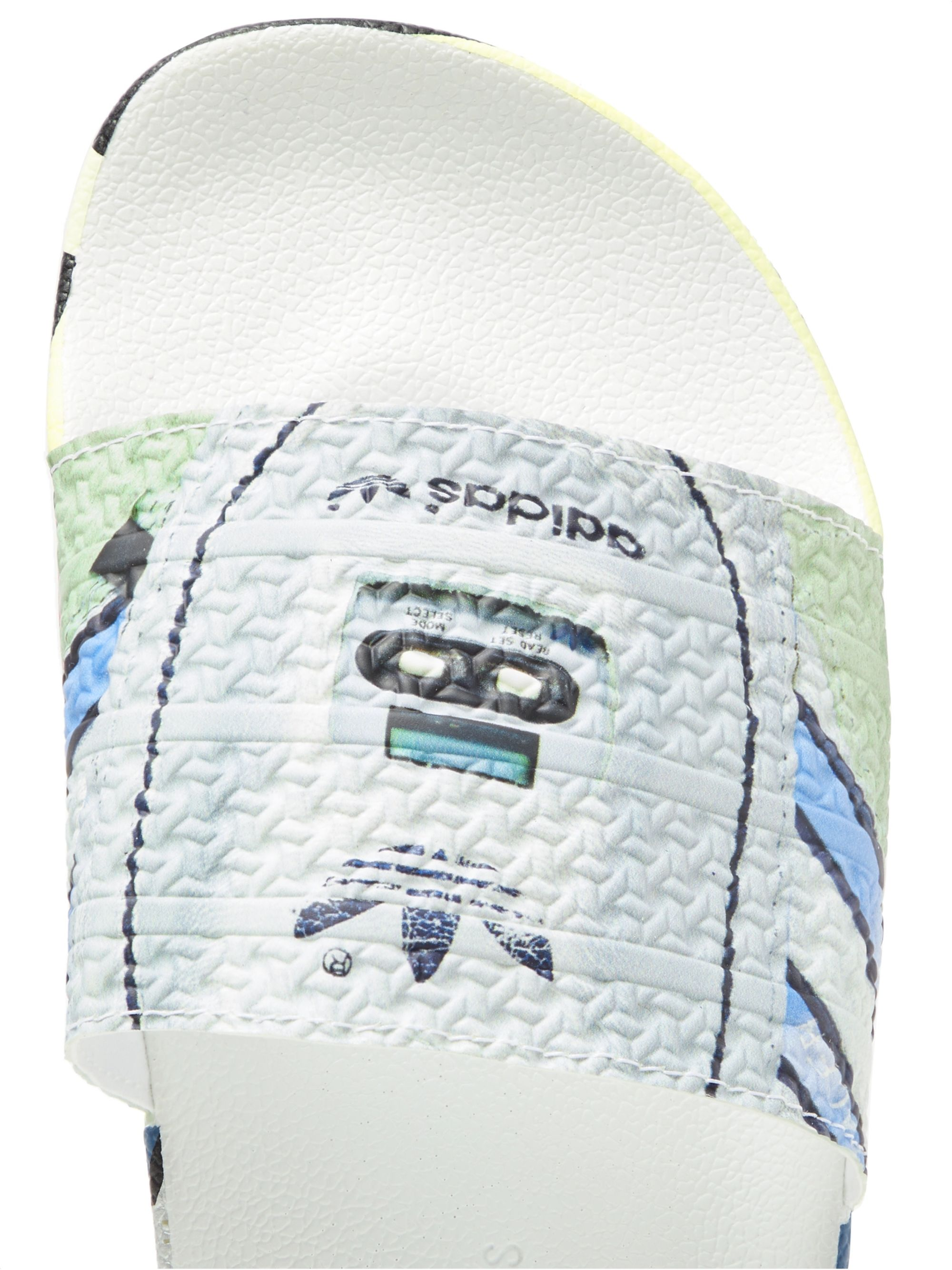 Raf Simons + adidas Originals Adilette Printed Textured-Rubber Slides