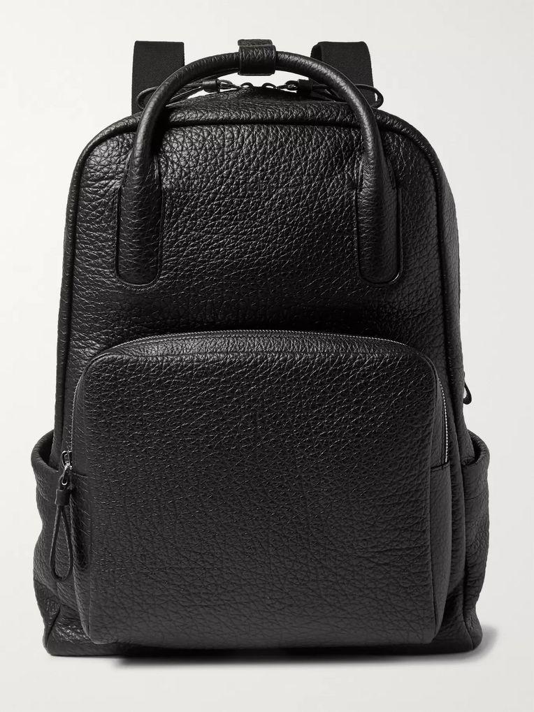 04efbda410ff Full-Grain Leather Backpack