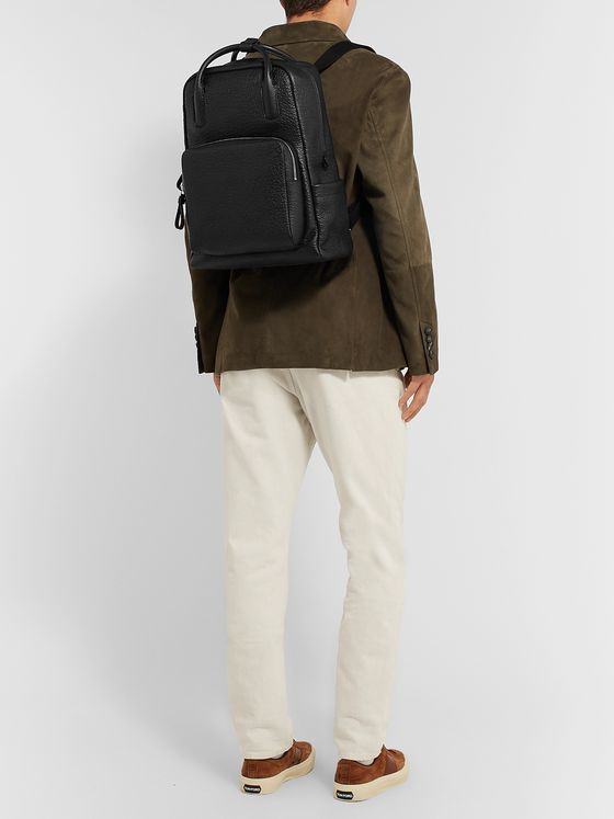 Tod's Full-Grain Leather Backpack
