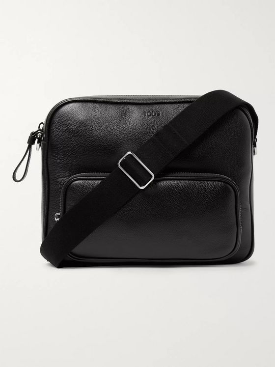 Tod's Leather Messenger Bag