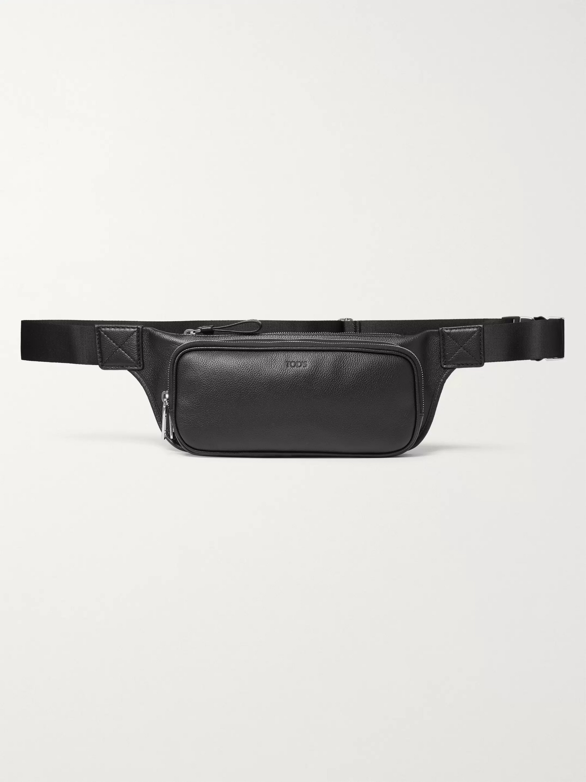 Tod's Full-Grain Leather Belt Bag
