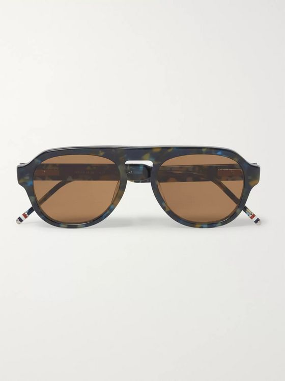 Thom Browne Aviator Style Acetate Sunglasses