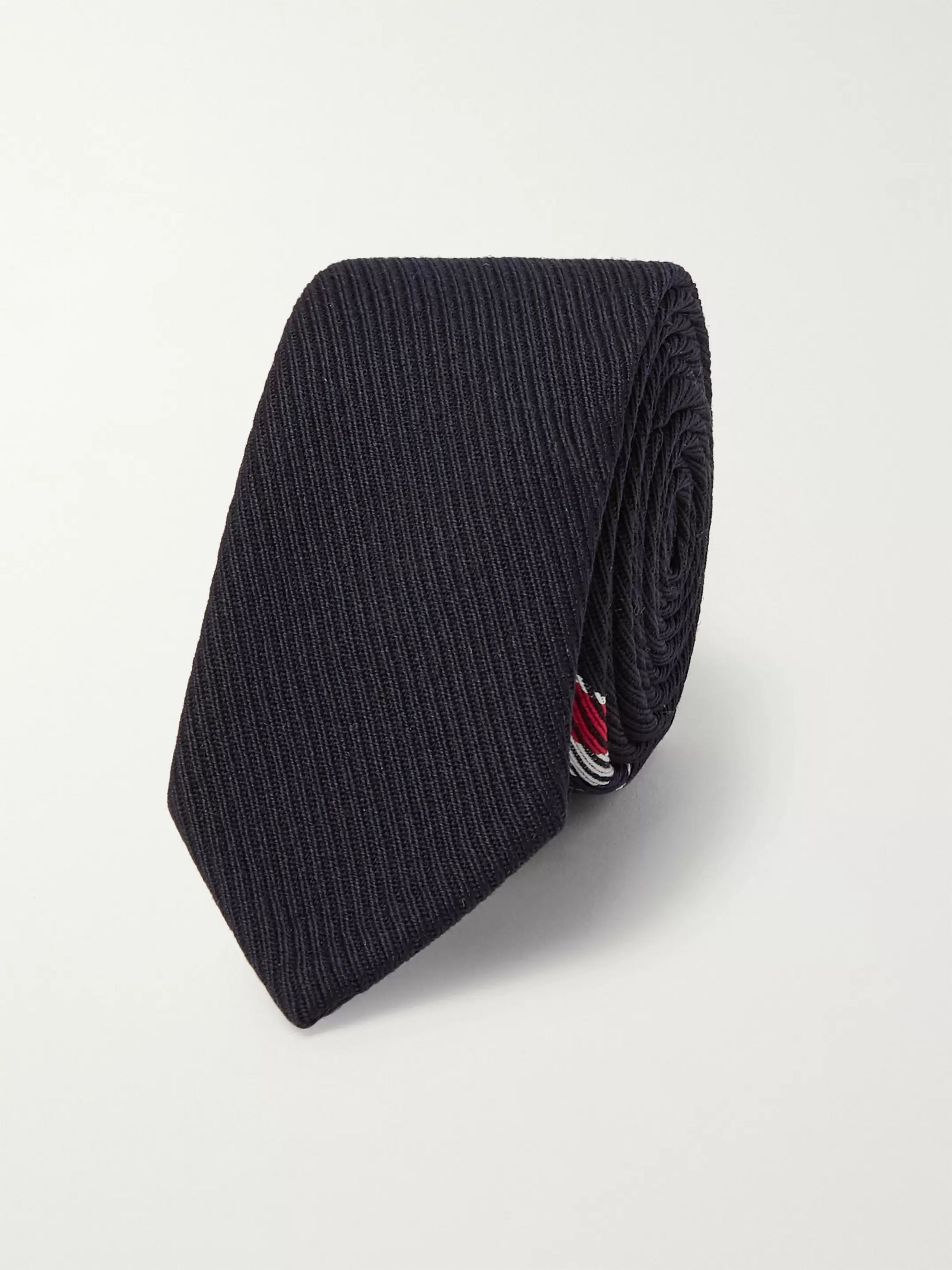 Thom Browne 5.5cm Striped Wool-Blend Twill Tie