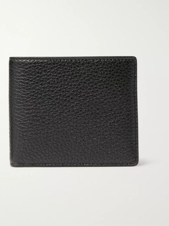 Maison Margiela Full-Grain Leather Billfold Wallet