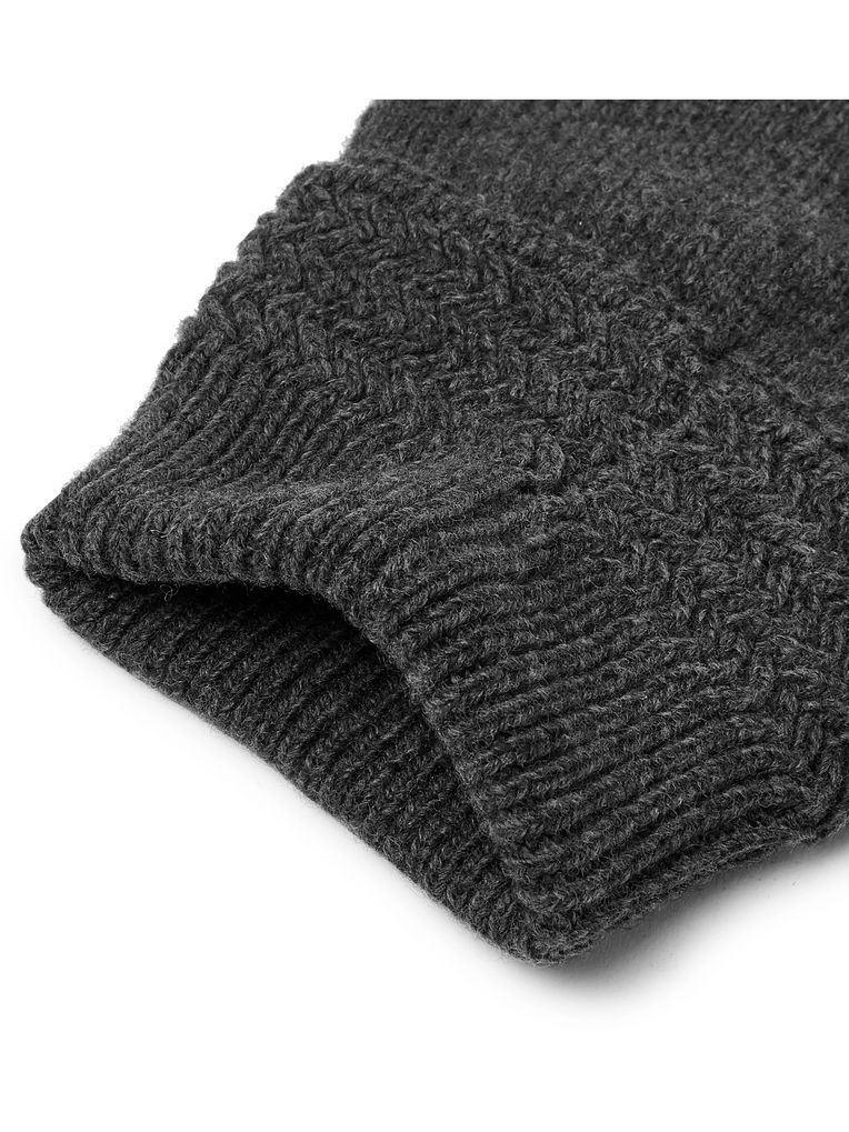 Maison Margiela Mélange Wool and Cashmere-Blend Mittens