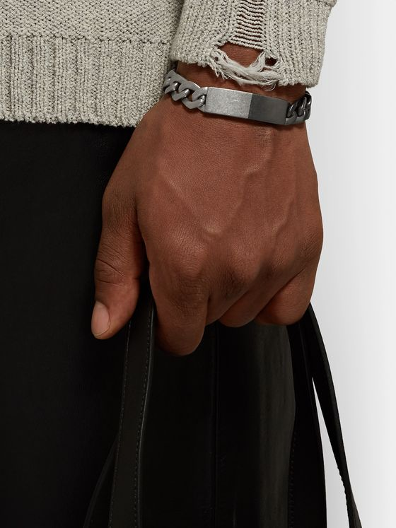 Maison Margiela Two-Tone Sterling Silver Chain Bracelet