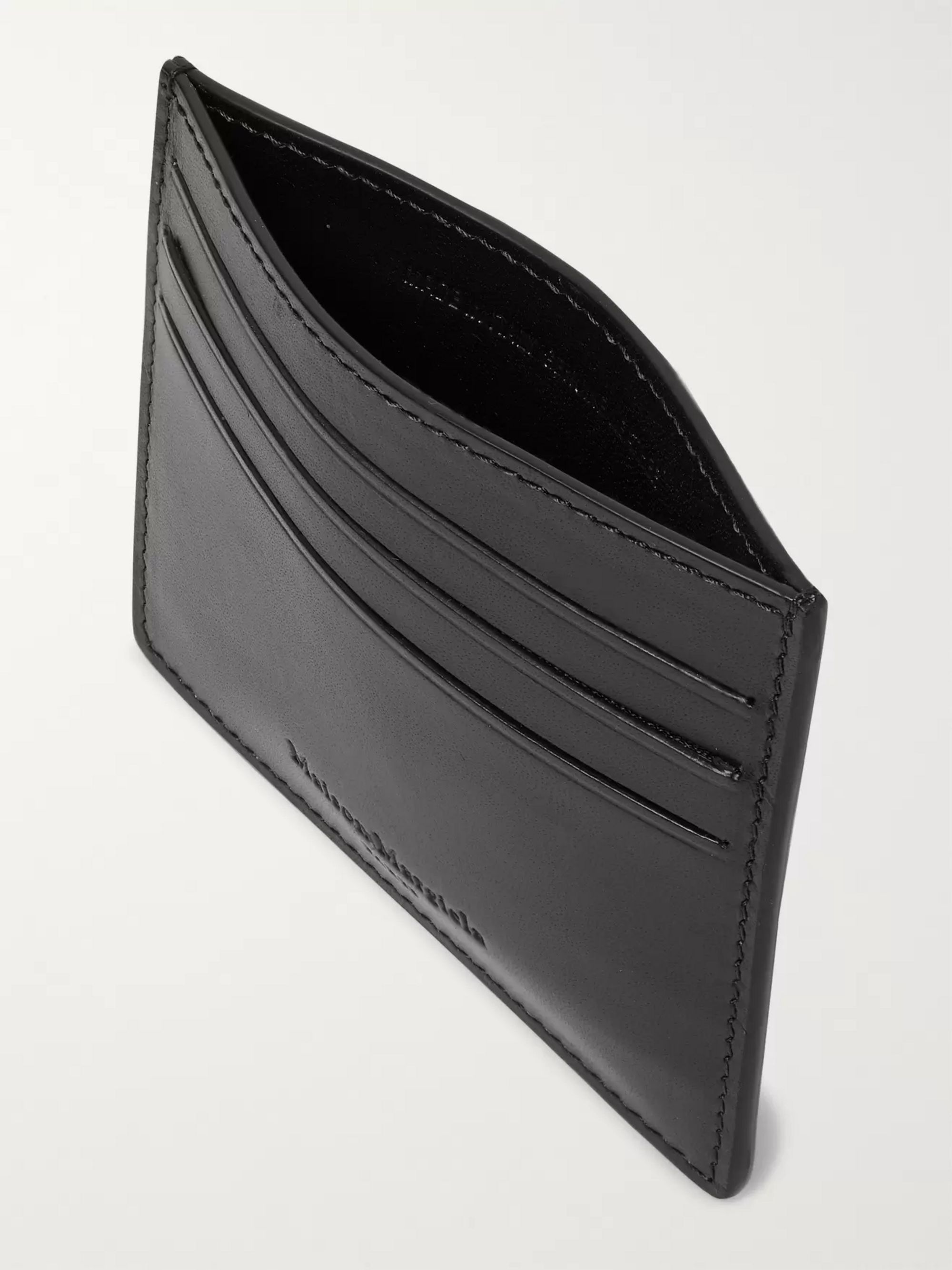 Maison Margiela Two-Tone Leather Cardholder