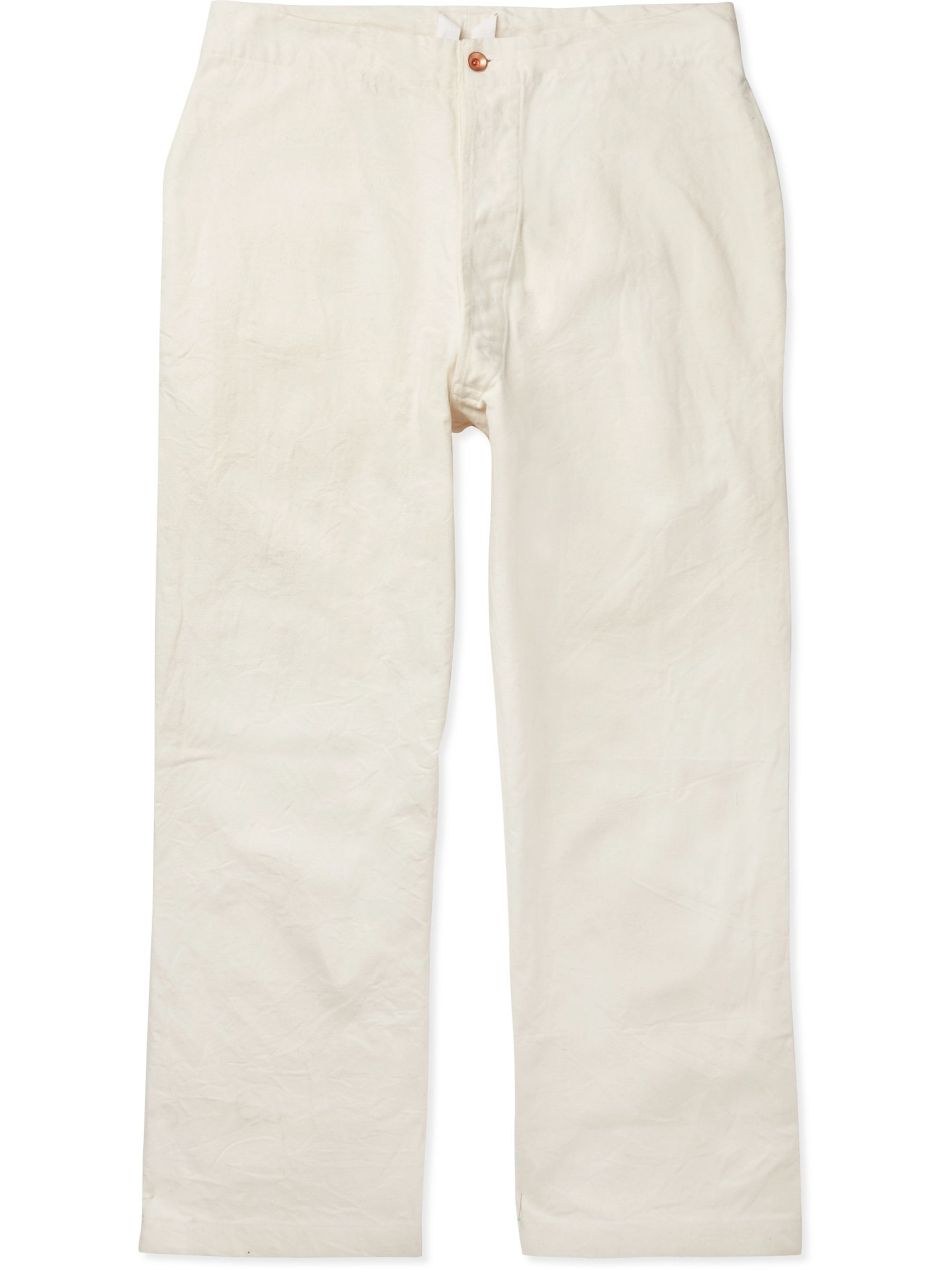 Story Mfg. Organic Cotton-Canvas Trousers