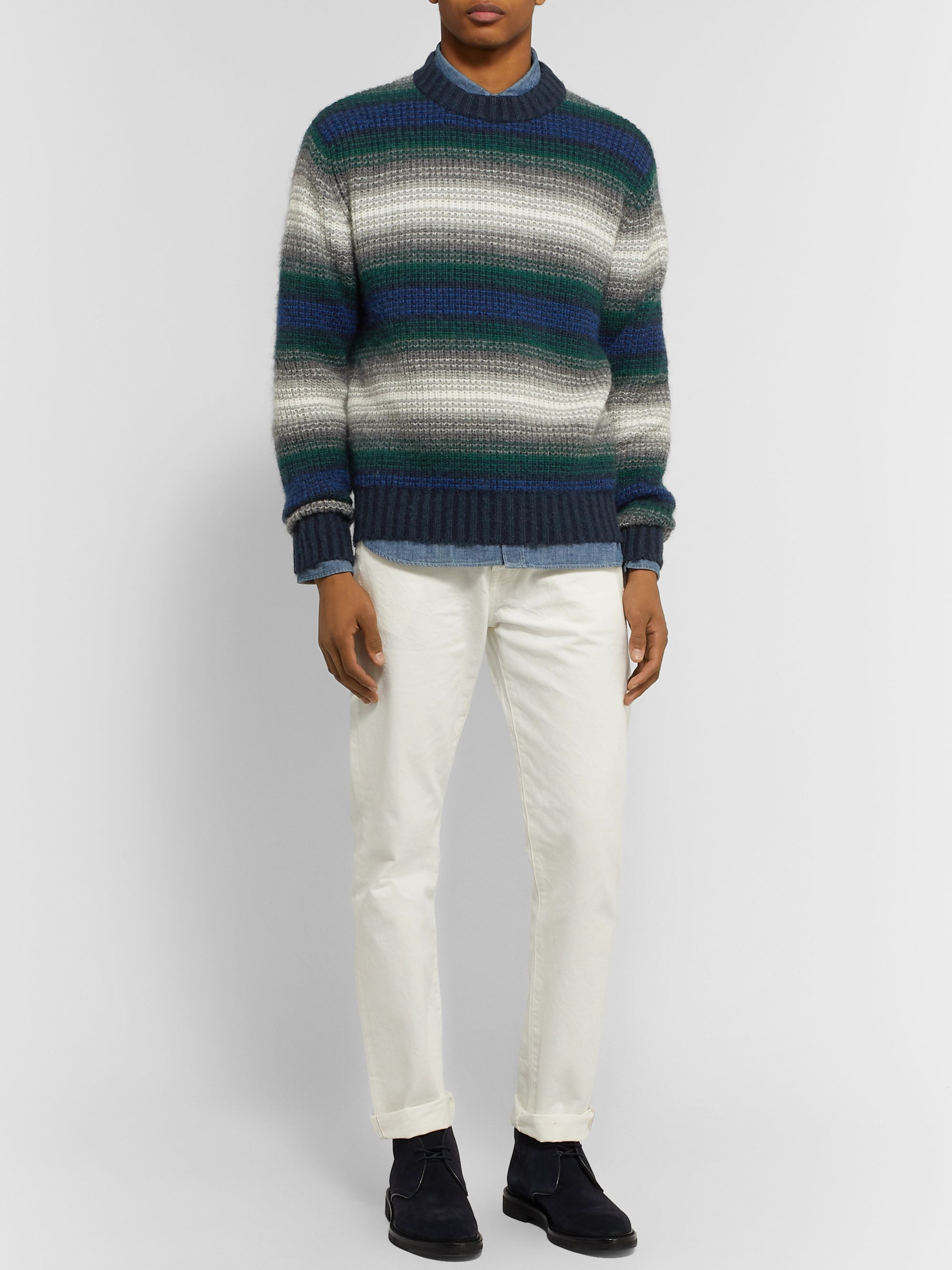 Mr P. Striped Knitted Sweater
