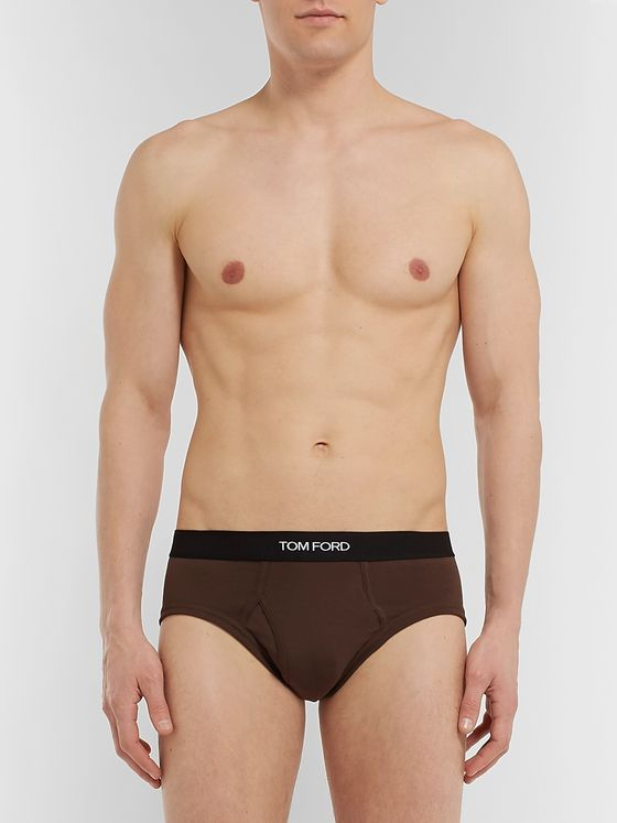 TOM FORD Stretch-Cotton Briefs