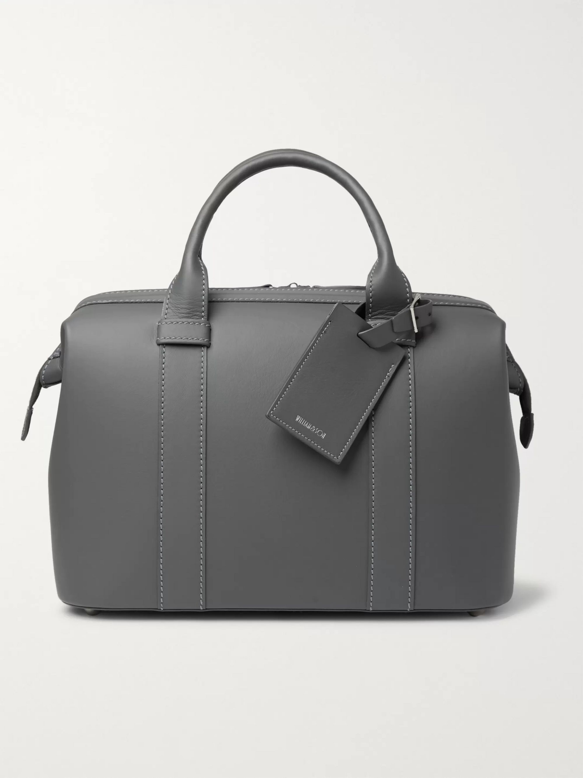 William & Son Leather Games Bag