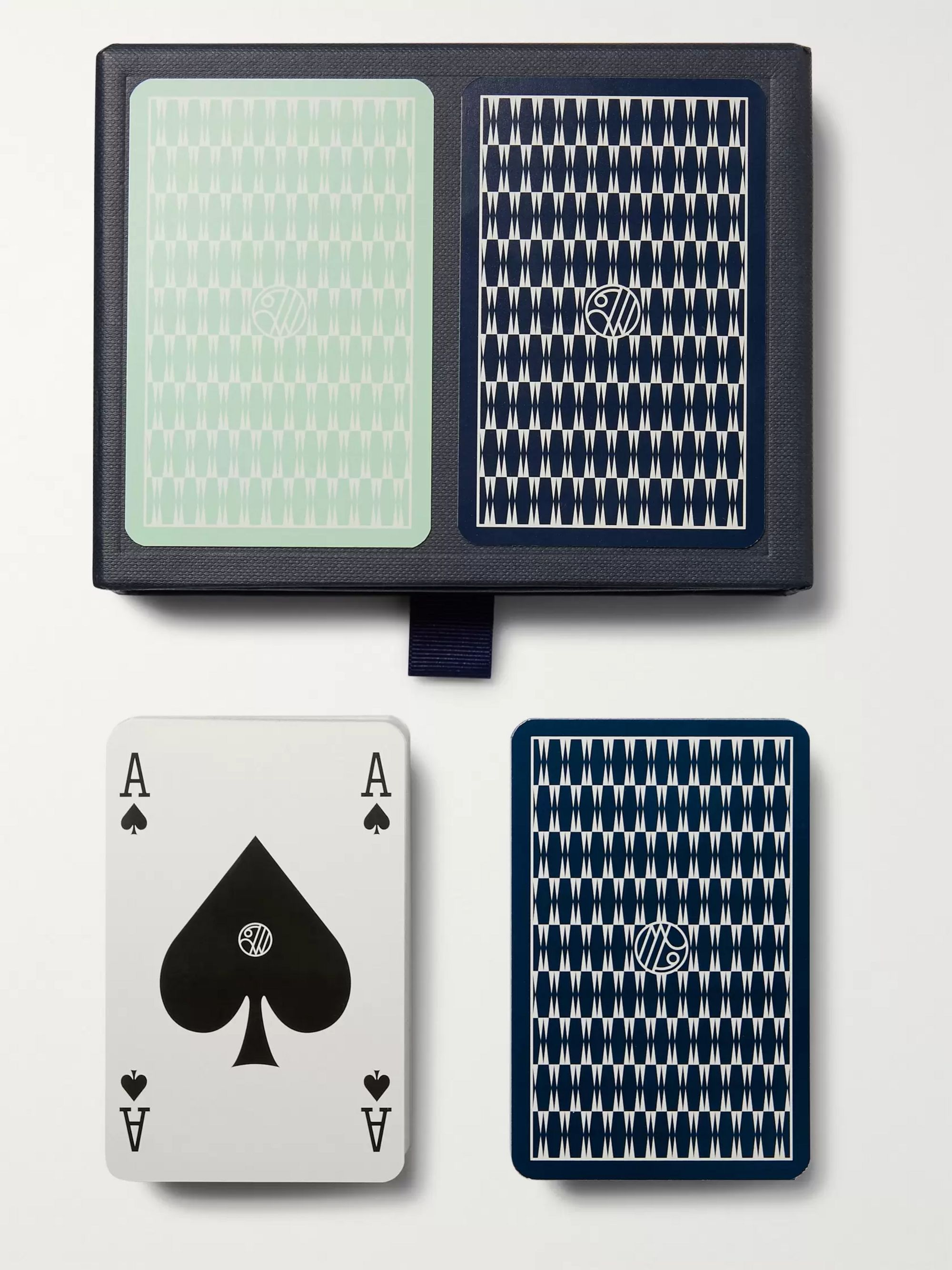 William & Son Set of Two Playing Cards