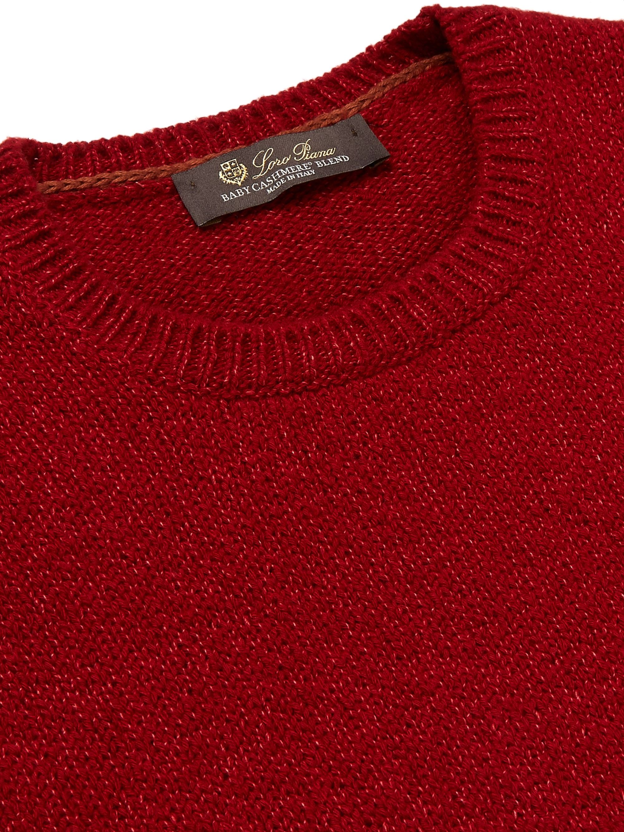 Loro Piana Baby Cashmere and Silk-Blend Sweater