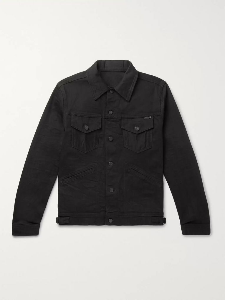 TOM FORD Slim-Fit Selvedge Denim Jacket