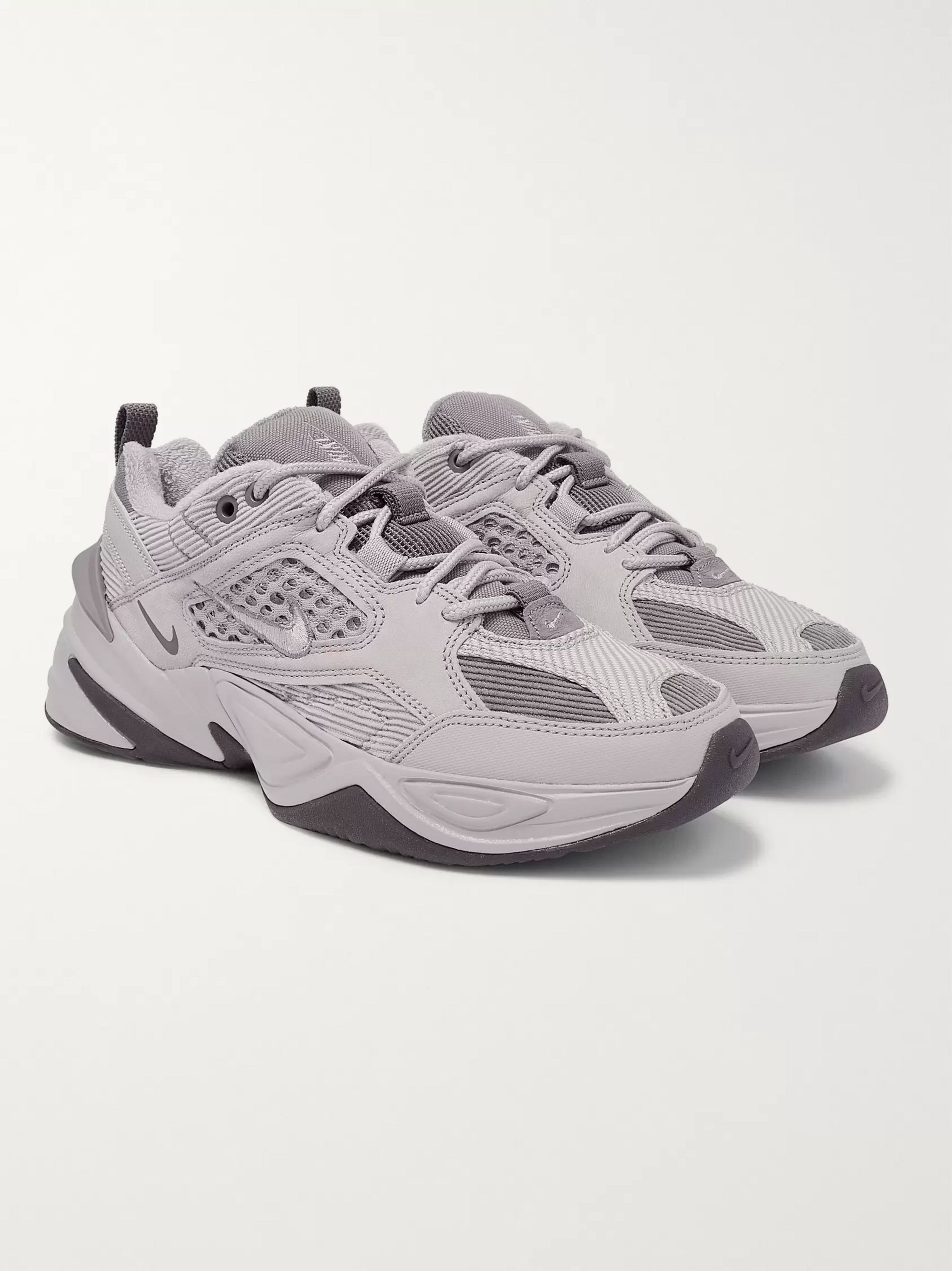 M2K Tekno SP Leather and Mesh Sneakers