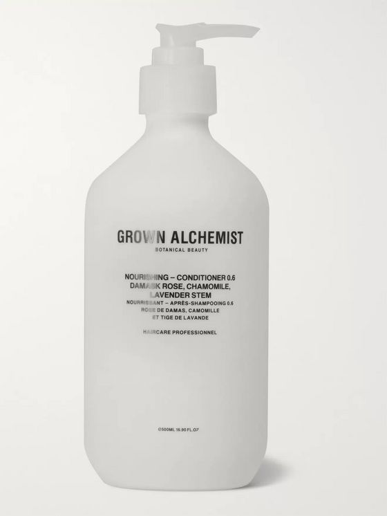 Grown Alchemist Nourishing Conditioner 0.6 -  Damask Rose, Camomile and Lavender Stem, 500ml