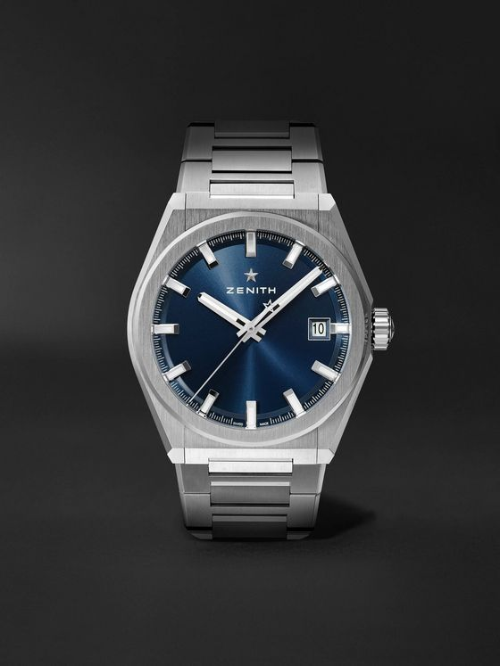 Zenith Defy Classic Automatic 41mm Brushed-Titanium Watch, Ref. No. 95.9000.670/51.M9000