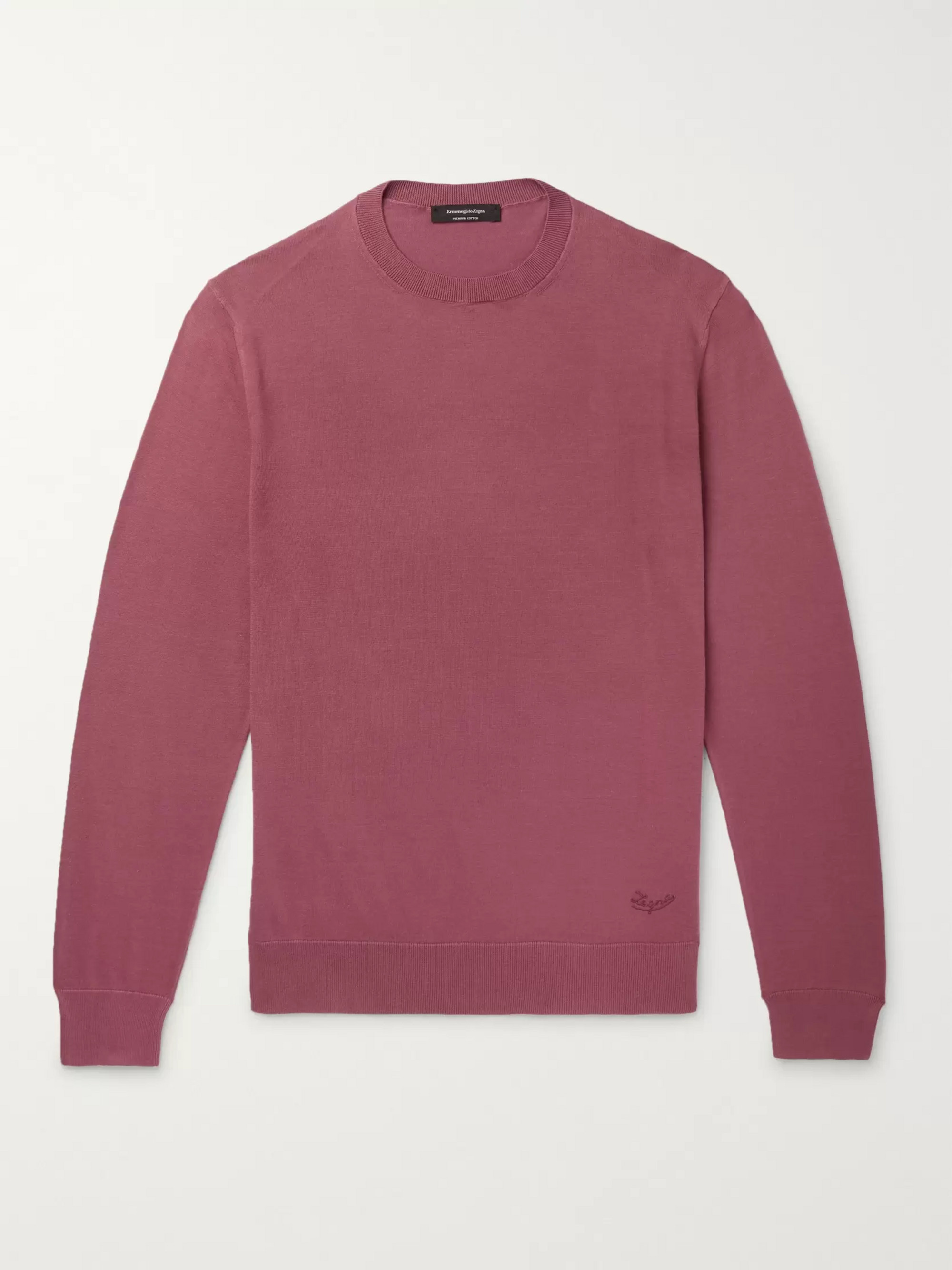 Ermenegildo Zegna Cotton Sweater