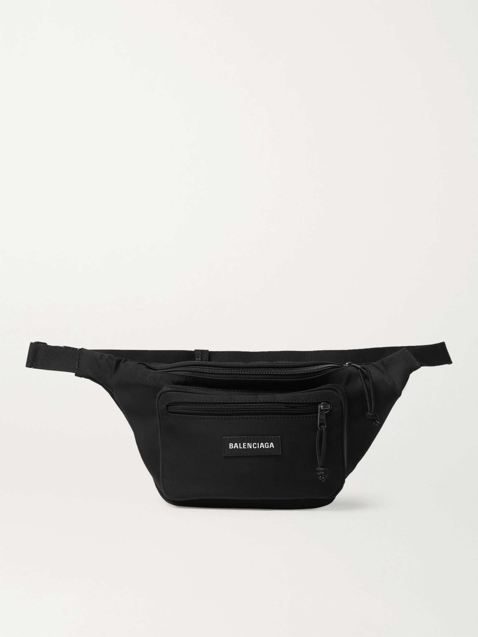 Balenciaga Explorer Logo-Appliquéd Canvas Belt Bag