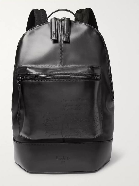 Berluti Leather Backpack