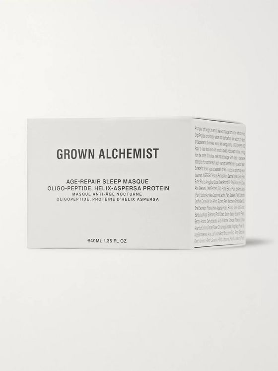 Grown Alchemist Age-Repair Sleep Masque - Oligo-Peptide Helix-Aspersa Protein, 40ml