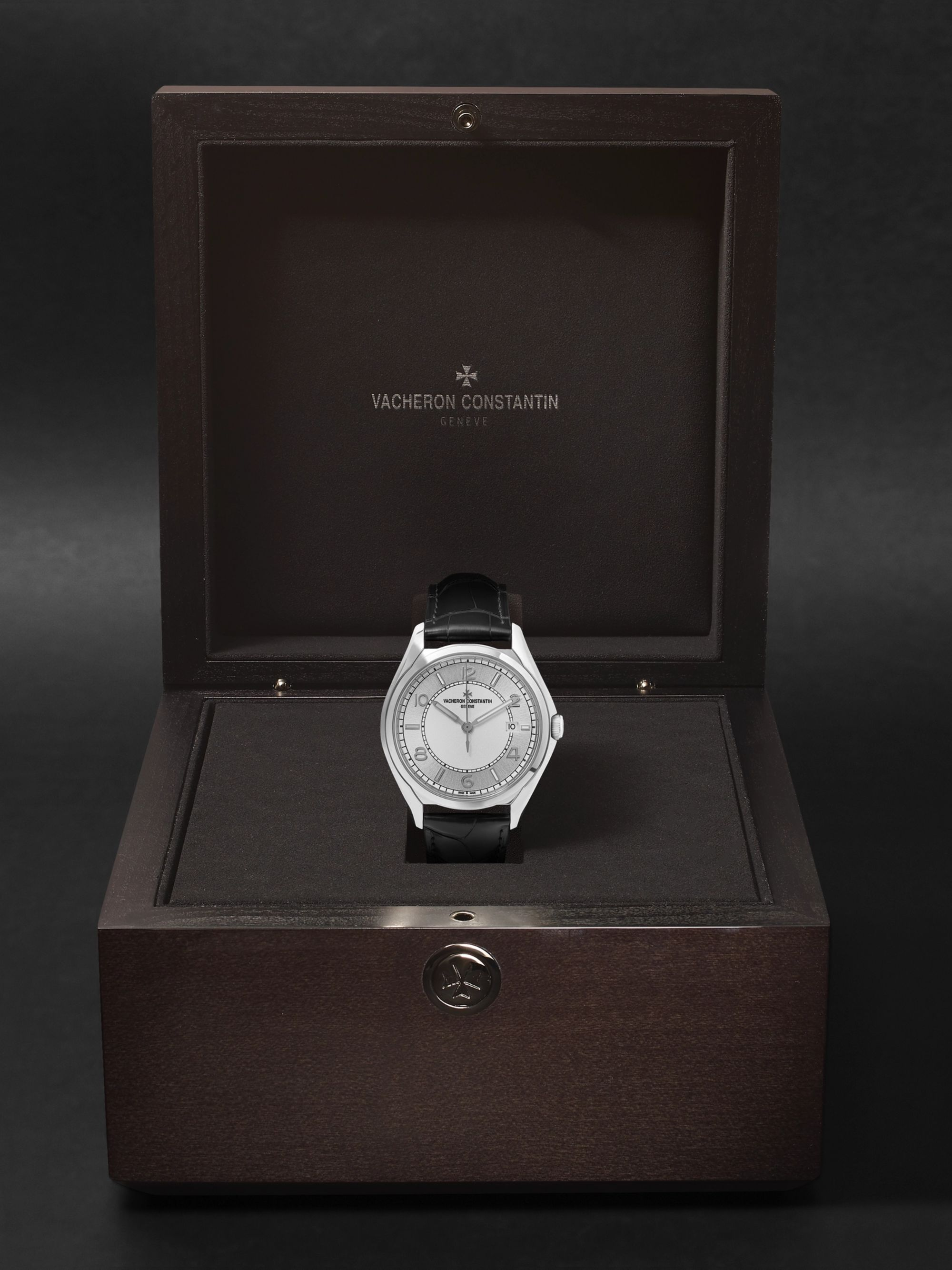 Vacheron Constantin Fiftysix Automatic 40mm Stainless Steel and Alligator Watch