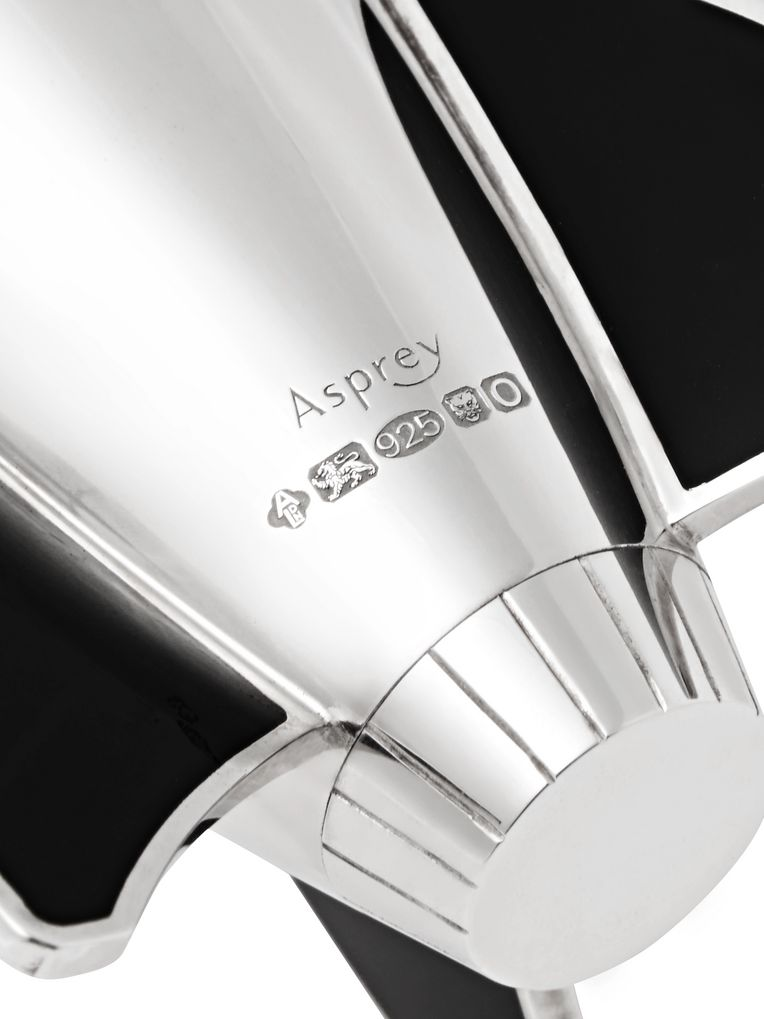 Asprey Rocket Sterling Silver Salt and Pepper Shakers