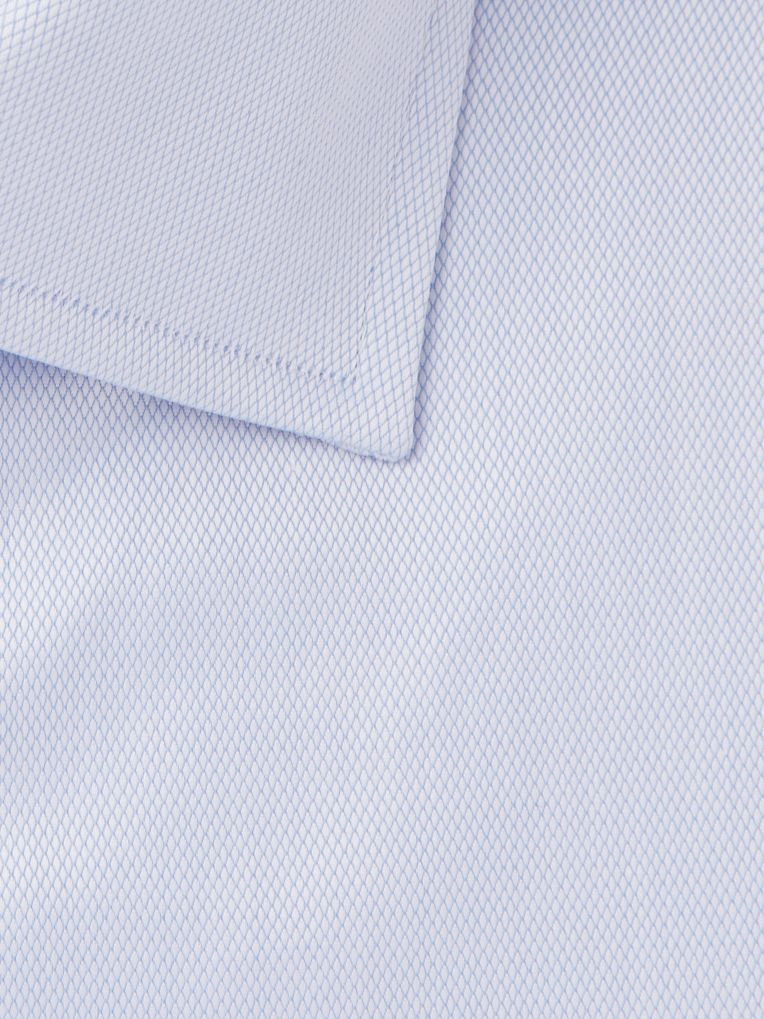 Dunhill Light-Blue Slim-Fit Cotton Shirt
