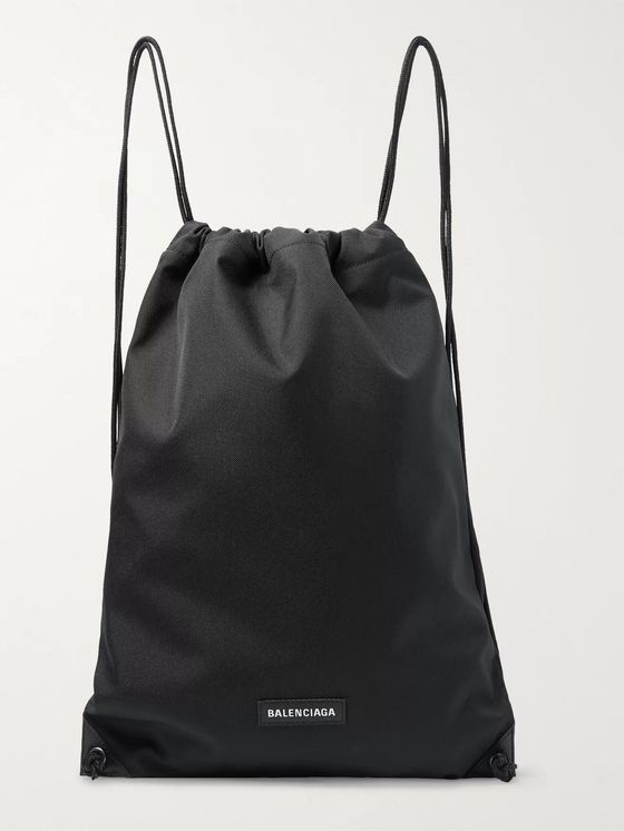 Balenciaga Explorer Canvas Drawstring Backpack