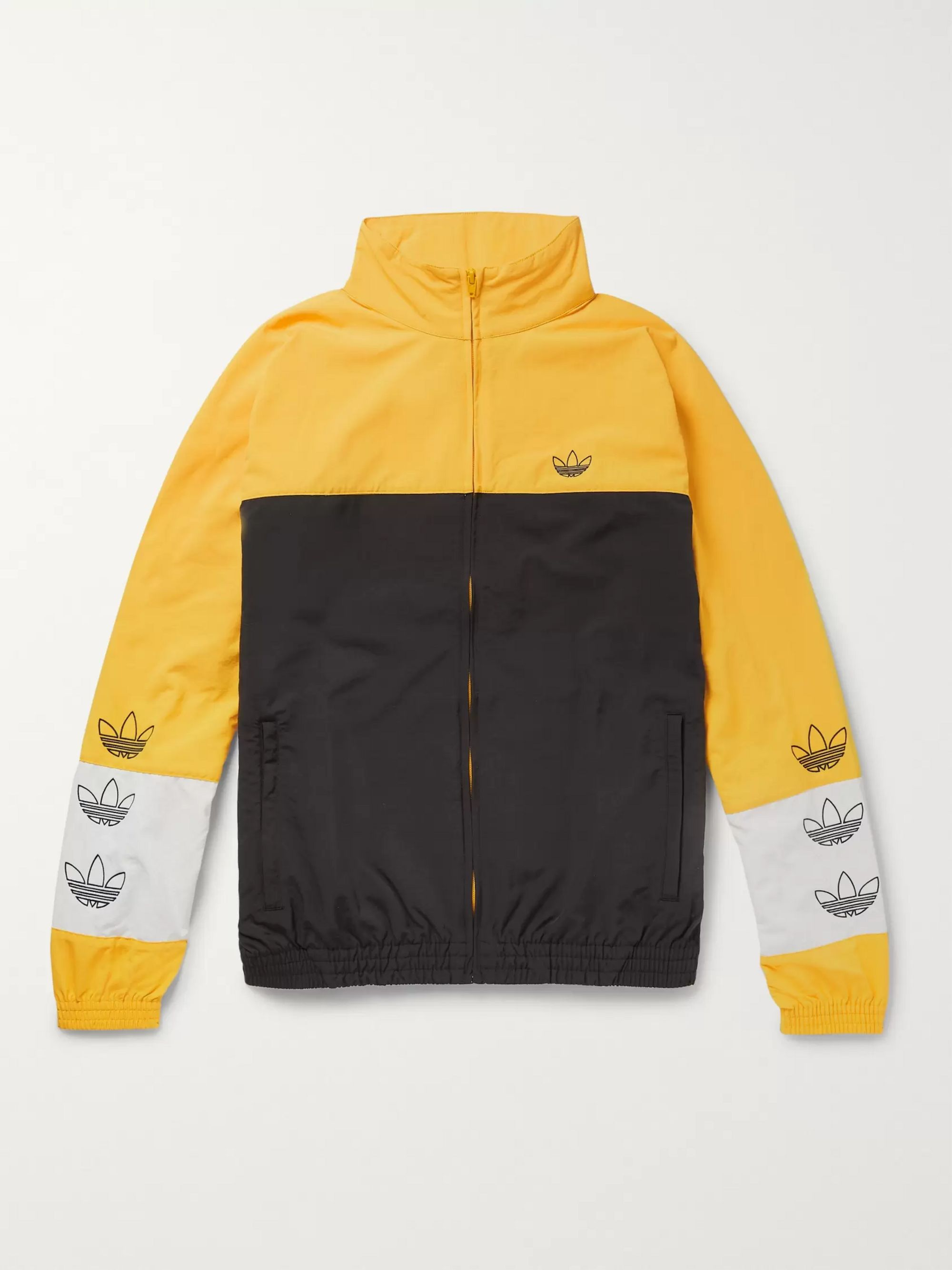 Colour Block Shell Track Jacket