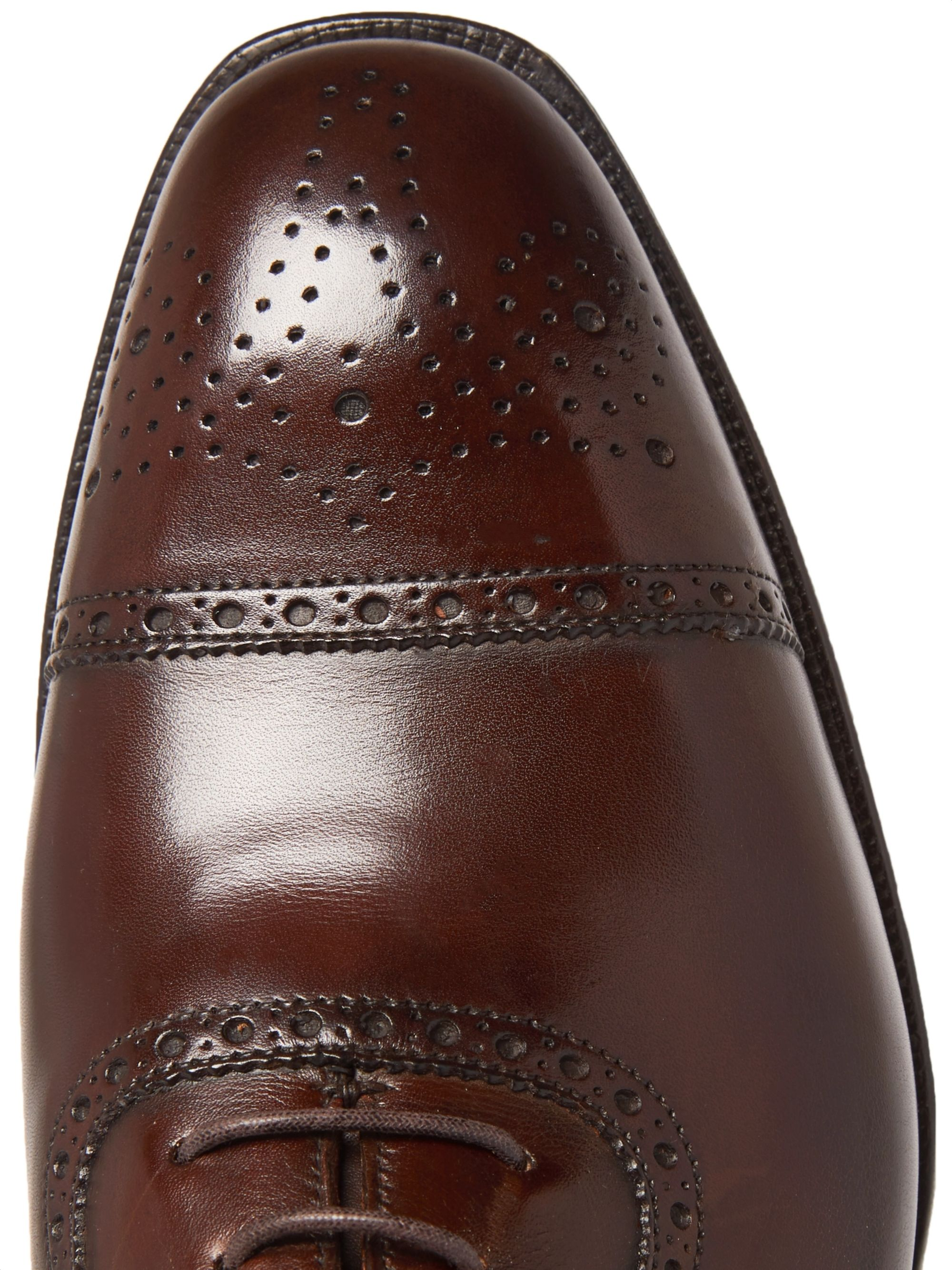 George Cleverley Adam Cap-Toe Leather Oxford Brogues