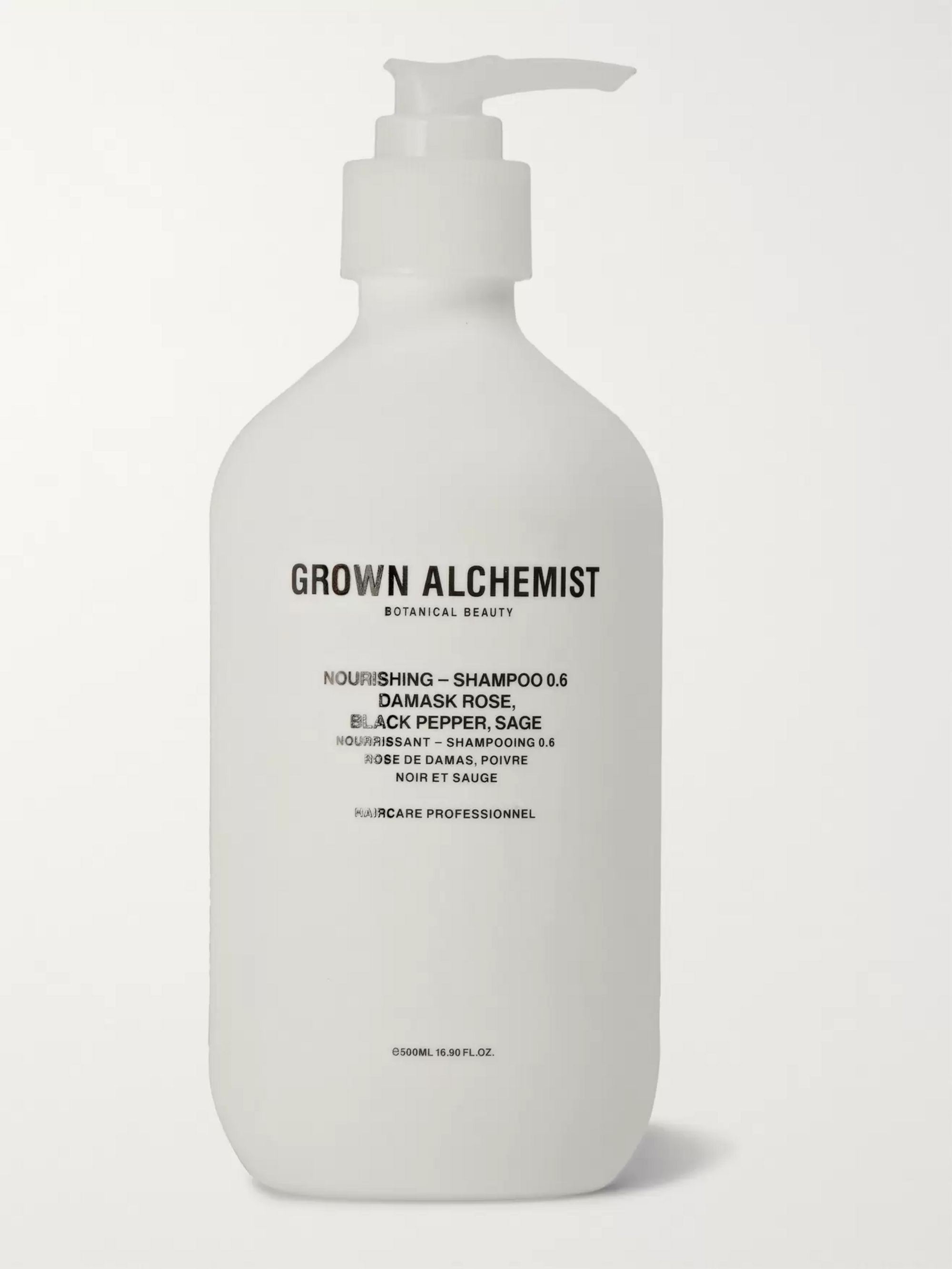 Grown Alchemist Nourishing Shampoo 0.6 - Damask Rose, Black Pepper and Sage, 500ml