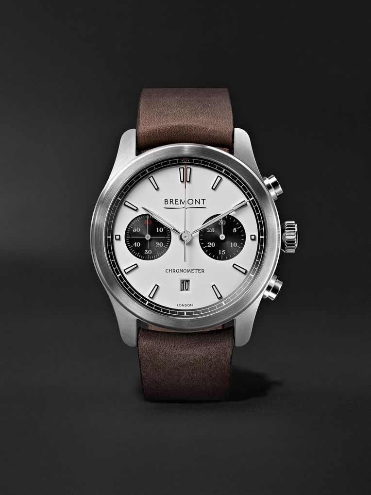 Bremont ALT1-C Automatic Chronograph 43mm Stainless Steel and Leather Watch