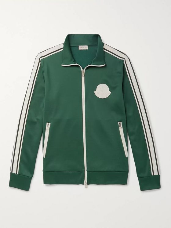 Moncler Striped Jersey Track Jacket