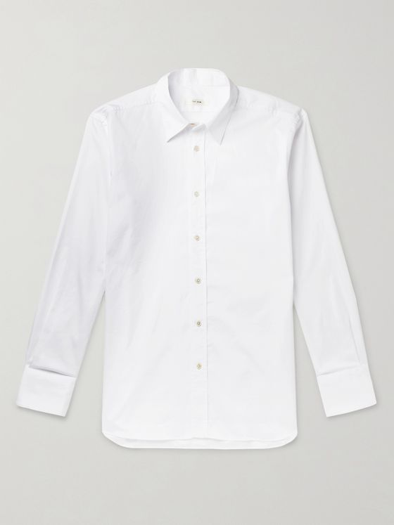The Row Keith Sea Island Cotton Shirt