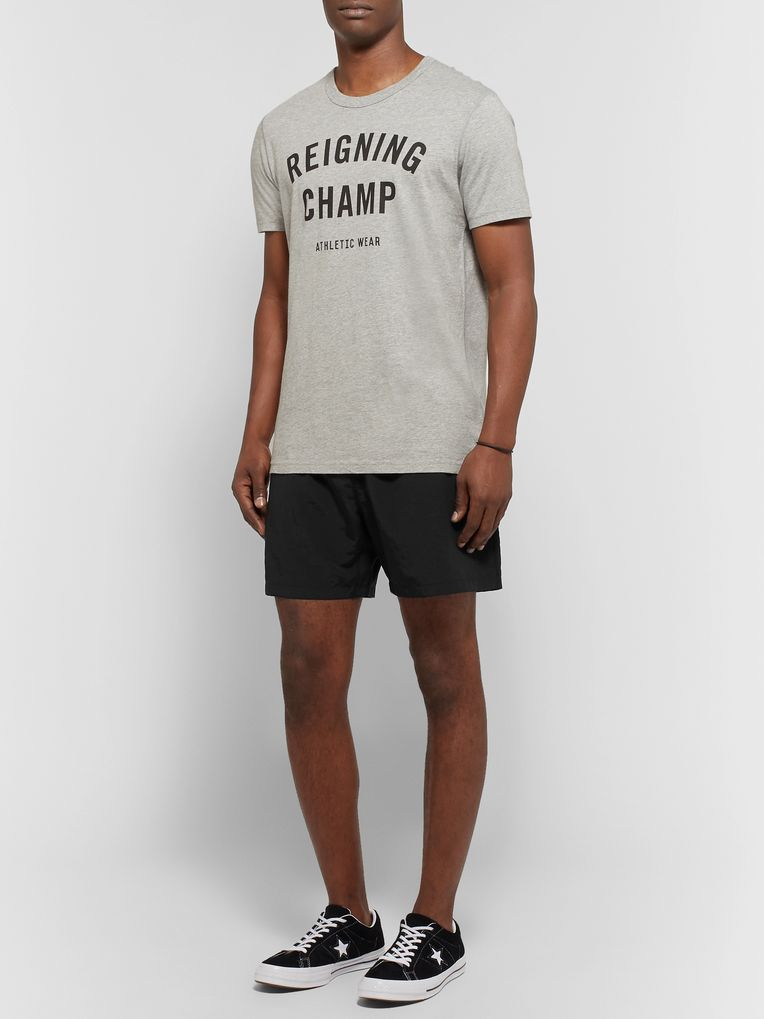 Reigning Champ Nylon Mid-Length Swim Shorts