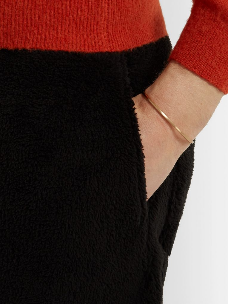 Le Gramme Le 9 Brushed 18-Karat Gold Cuff