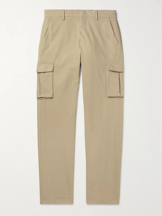 NN07 Slim-Fit Cotton-Blend Twill Cargo Trousers