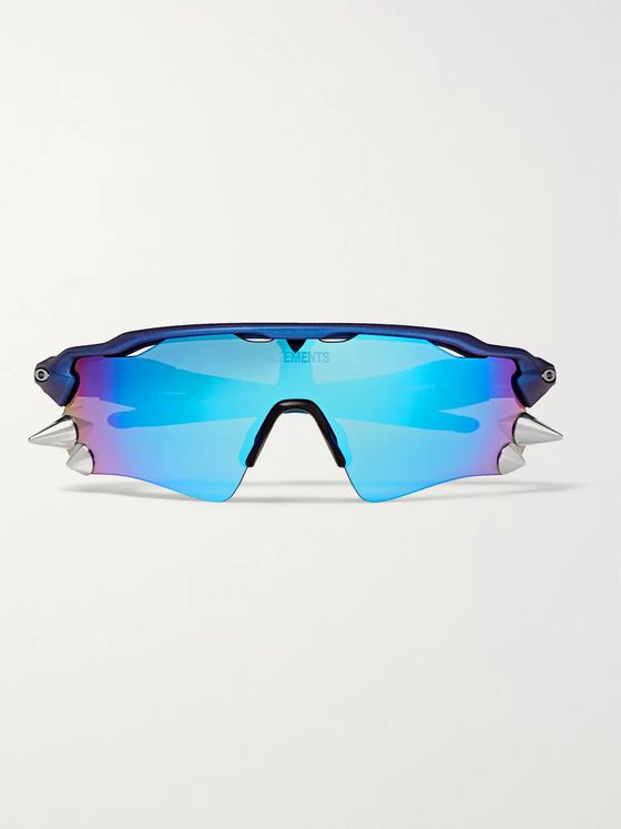 Vetements + Oakley Spikes 200 D–Frame Acetate and Rubber Sunglasses